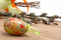 Free Easter Still-life With Eggs Stock Images - 4220194