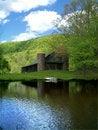 Free Barn & Pond Stock Photo - 4225360