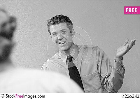 Free Businessman Smiles Stock Photos - 4226343