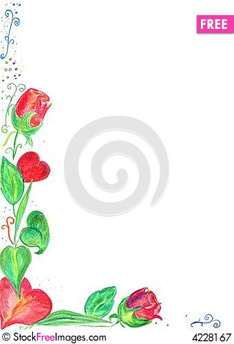 Valentine Card Border  Free Stock Images  Photos  4228167