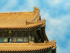 Free The Roof Of An Imperial Palace Stock Photo - 4220000