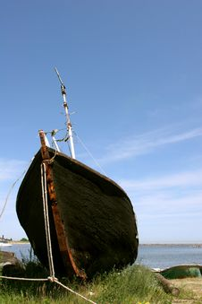 Free Fishing Boat Stock Photography - 4220022