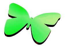 Free 3D Butterfly Royalty Free Stock Photos - 4220268