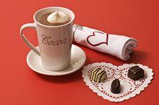 Free Chocoloate Valentine Royalty Free Stock Photos - 4220288