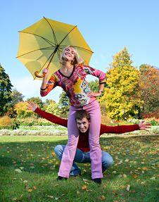 Free Autumn Fun Royalty Free Stock Images - 4220419