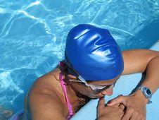 Free Pool Girl Stock Image - 4220591