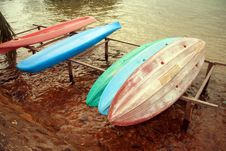 Free Canoes Stock Photography - 4220592