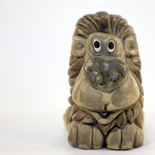 Free Ceramic Lion Figure Stock Image - 4220861
