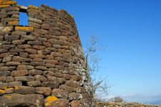 Nuraghe Royalty Free Stock Image