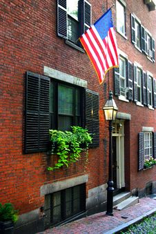 Free Beacon Hill, Boston Royalty Free Stock Image - 4220986