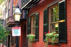 Free Beacon Hill, Boston Stock Images - 4220994