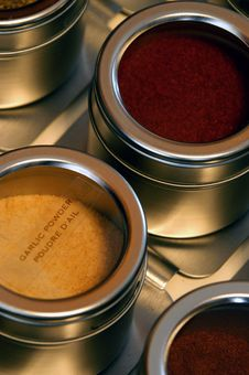 Spice Drawer Royalty Free Stock Photos
