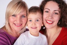 Free Grandmother, Mother, Baby Stock Photography - 4222052