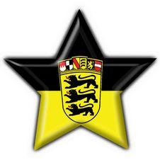 Free Baden Württemberg Button Star Heart Shape Stock Photos - 4222713
