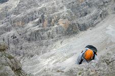 Free Rock Climber Stock Image - 4222731
