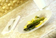 Free Asparagus Stock Photography - 4223422
