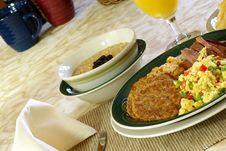 Free Hearty Breakfast Stock Image - 4223611