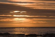 Free Kommetjie Sunset Royalty Free Stock Photography - 4223617