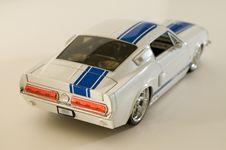 Free White Toy Sports Car Stock Image - 4224061