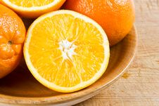 Free Cut Oranges Royalty Free Stock Images - 4224379