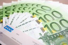 Free Euro Background Royalty Free Stock Images - 4225299
