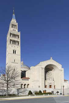 Free Basilica Of The National Shrine Of The Immaculate Royalty Free Stock Images - 4225619