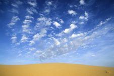 Free DESERT Landscape Stock Image - 4225621