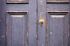 Free Painted Door Royalty Free Stock Photo - 4226265
