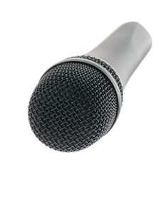 Microphone Perspective Royalty Free Stock Photos