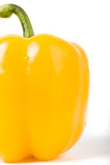Free Closeup Sweet Yellow Pepper Royalty Free Stock Photos - 4226568