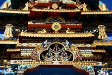 Free Beautiful Monastery Top-I Royalty Free Stock Photos - 4226668