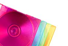 Free Stack Of Color Disc Boxes Stock Photo - 4226690