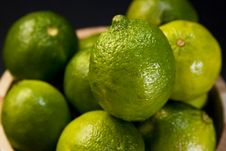 Free Green Lemons Stock Photography - 4227332