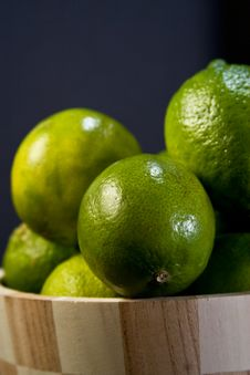 Free Green Lemons Royalty Free Stock Photo - 4227335