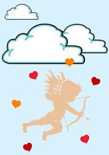 Free Vector Valentine Amur Stock Photos - 4227453