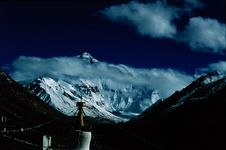 Free Everest From RongBu Temple Stock Photo - 4227610