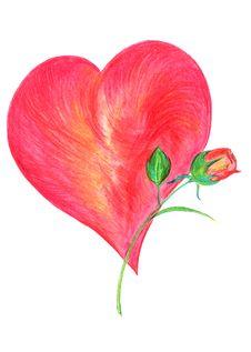 Free Valentine Card Royalty Free Stock Photos - 4228178