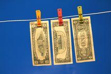 Free Money Laundering Royalty Free Stock Image - 4228426