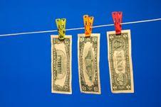 Free Money Laundering Royalty Free Stock Image - 4228486