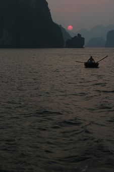 Free Boat Halong Bay Stock Photos - 4228533