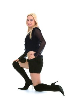 Free Portrait Of The Blonde Stock Photography - 4228712