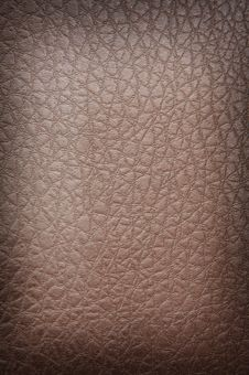 Free Brown Crackled Leather Royalty Free Stock Photos - 4228738