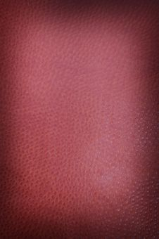 Free Deep Red Spotted Leather Stock Photo - 4228970