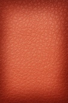 Free Orange Crackled Leather Royalty Free Stock Photos - 4229078