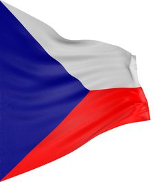 Free 3D Czech Flag Royalty Free Stock Photos - 4229288