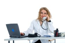 Free Young Doctor With Stethoscope Stock Photos - 4229303