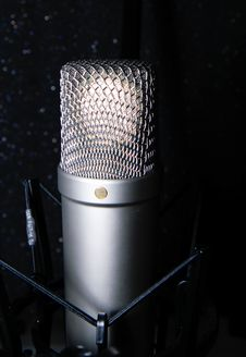 Free Microphone Stock Images - 42244634