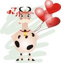 Free Cow Royalty Free Stock Photography - 4231787