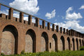Free Old Fortress Wall Stock Image - 4233511