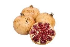 Pomegranate Fruits Royalty Free Stock Photography